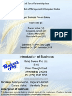 Business Plan of Bakery