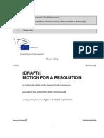 Digital Single Market Resolution