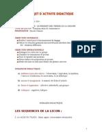 Projet Did ...v a Le Present des verbes 1er Gr.