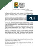 141124 COMUNICADO_Alto a La Criminalización de La Protesta Social_RNDDHM