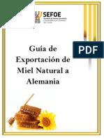 Guia de Exportacion de Miel Natural a Alemania