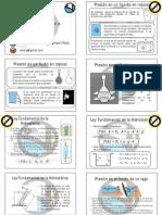 Ley Fundamental de La Hidrostática
