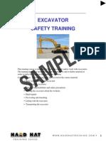 Excavator Instructors Notes