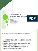 o Desafio Da Sustentabilidade Urbana_trabalho (2)