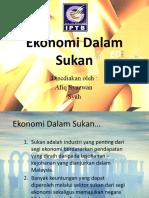 Ekonomi Dalam Sukan