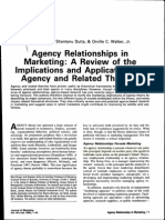 Agency Relationship