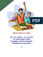Regulile Clasei Integral