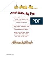 Allaah Made Me