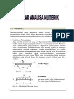 Bab 1 Pengantar Analisa Numerik