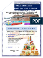 VITAMINAS LIPOSOLIBLES