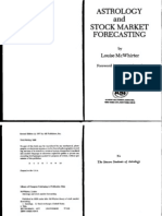 Astrology and Stock Market Forecasting McWhirter