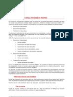 Documentación en el proceso de testing