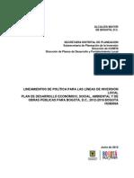 Directiva 005 de 2012