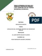 COPILACION DEL CONTENIDO TEMATICO DE PERCEPCION REMOTA
