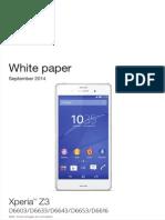 Manual de Xperia Z3