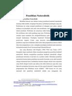 Penelitian Naturalistik