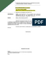 INFORMES AMPLIACION DE PLAZO N° 01