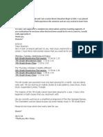 mued 371 practicum emails