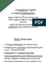 BeyondAcademic English, UNDERLINED