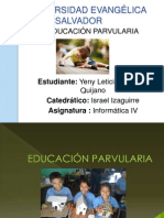 Yeny Parvularia