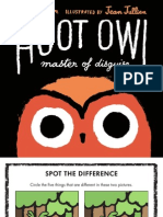 Hoot Owl by Sean Taylor Activity Sheet