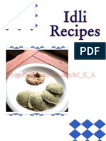 Idli Recipes
