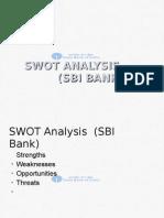 SWOT Analysis (SBI Bank)-Ppt