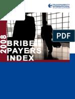 Transparency International Survey 2008 BPI En