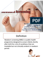 Newborn screening- Dr. T. Ghosh