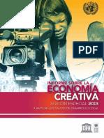 Creative Economy Report 2013 Es