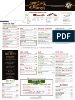 Dotty's Food Menu 2015