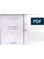 Aplicabilidade Das Normas Constitucionais - Teoria Do Estado e Da Constituição