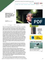 Print Editorial de Luís Rosa. Sócrates