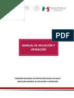 Proteccion Social en Salud Manual de Afiliacion y Operacion Vigente