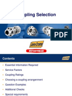 Couplings Selection