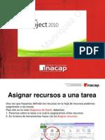Asignacion de Recursos Project 2010