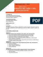 """""""Diplomado en Orientación y Psicoterapia Del Niño y Del Adolescente"""""""