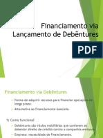 Financiamento via Debêntures