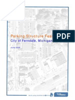 Parking Structure Feasibility Study