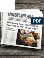 HungerCount 2014 - Food Banks Canada