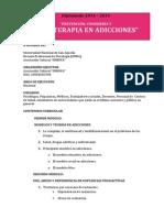 """""""Prevención, Consejería y Psicoterapia en Adicciones""""- 2015"""