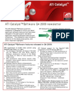 Ati Catalyst Q4 2009 Update
