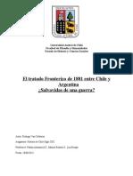 Tratado Fronterizos Chile-Argentina