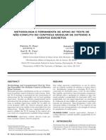 [2010-A] Metodologia e Ferramenta Ao Apoio Ao Teste de Nao Conflito No Controle Modulade de SED