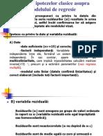 Curs5_Ipotezele Modelului de Regresie