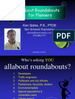 All About Roundabouts for Planners 111814
