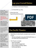 WEBNotes - Day 7 - 2014 - Pacific Warfare - WWII