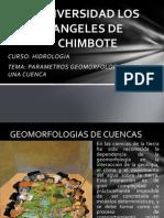 HIDROLOGIA CLASE  Parametros de Una Cuenca