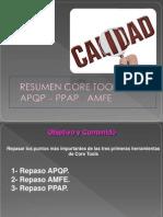Repaso Core Tools - APQP-AMFE-PPAP