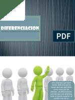 Diferenciacion (capitulo 4) de ventajas y desventajas
